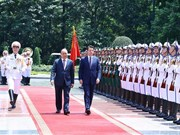 Italian Prime Minister starts official visit to Vietnam