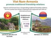 Viet Nam-Armenia promote traditional friendship relations