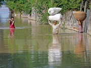 Myanmar calls for international flood relief