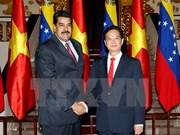Prime Minister meets Venezuelan President