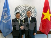 Vietnamese President meets with UN Secretary-General in NY