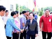 Vietnamese Vice President visits Laos's Vientiane province