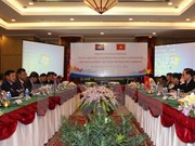 Senior officials discuss ways to reinforce Vietnam-Cambodia ties