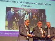 Viglacera receives British Council award