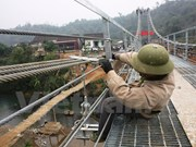 Tuyen Quang: six suspension bridges put into use