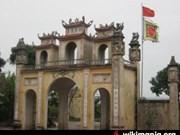 Ancient temple's restoration begins