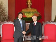 Chinese Party General Secretary's envoy welcomed