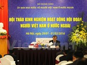 Vietnamese associations abroad seek to improve activities