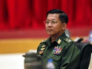 Myanmar: military chief pledges to cooperate with gov't in transition