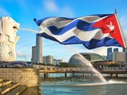 Cuban economic minister visits Singapore