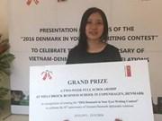 Writing contest marks Vietnam-Denmark diplomatic ties