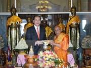 President wraps up Cambodia visit