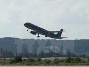 Laser lights flashed at planes threaten flight safety