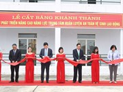 Occupational safety training centre opens with better capacity