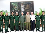 Senior defence officials visit Cuba