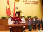 14th NA Chairwoman Nguyen Thi Kim Ngan takes oath