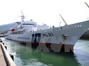 Japan Coast Guard training ship visits Vietnam