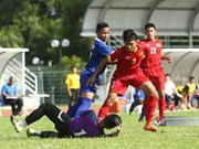 Vietnam beat Myanmar at Brunei tournament