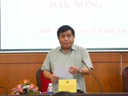 Dak Nong proposes hastening aluminum project