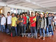 Indonesia returns 49 Vietnamese fishermen
