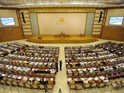 Myanmar legislature supports bid to join nuclear conventions