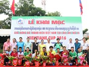 Football tourneys held for Vietnamese expats in Malaysia, Laos