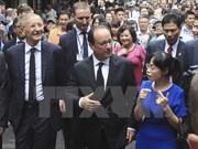 President Hollande's Vietnam visit makes headlines in France