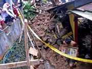 Indonesia: landslides, flash floods claim 10 lives