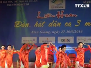 Folk music festival in Kien Giang