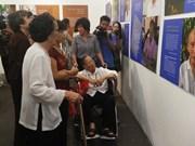 Exhibit sheds light on elderly's life