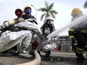Radiation accident response drill held in Da Nang