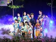 Hanoi ao dai festival opens