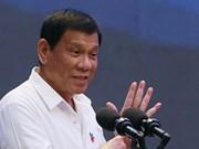 Philippine President visits Japan
