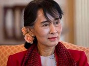 Myanmar State Counselor visits Japan to call for investment