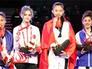 Taekwondo gold medal for Vietnam at world junior champs