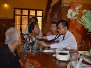 Free check-ups, medication for OVs in Cambodia