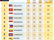 SEA Games 29: Vietnam secures second place with 37 golds