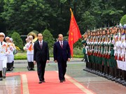 Egyptian President pays first-ever State visit to Vietnam