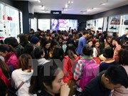 Black Friday warms up cold weather in Hanoi