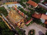 Khmer temple Monivongsa Bopharam in Ca Mau