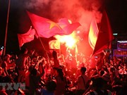 Asian Games 2018: Vietnam beats Bahrain 1-0, fans take to street