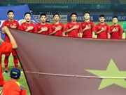 Vietnam beats Syria 1-0, entering ASIAD semifinals for first time