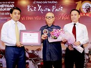 Bui Xuan Phai awards honour lovers of capital city