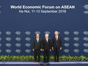 WEF ASEAN 2018 officially kicks off in Hanoi