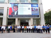 Vietnam News Agency's electronic information board inaugurated