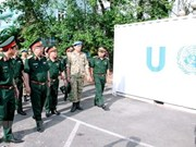 Vietnamese peacekeepers ready for UN mission