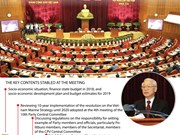 Key contents of the 12th Party Central Committee's 8th plenary meeting