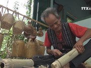 Raglai artisan manages to preserve traditional craft