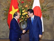 Prime Minister Nguyen Xuan Phuc welcomed in Tokyo