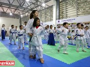 Japanese martial art Aikido benefits children